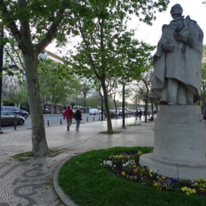 Almeida Garrett em Lisboa