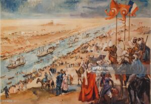 De Port Said a Suez com Eça e do Egipto à Palestina com Teodorico Raposo